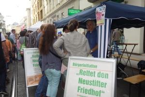 Bürgerinitiative am Währinger Straßenfest